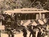 Společnost Elektrická dráha Praha-Libeň-Vysočany zahájila provoz elektrické tramvaje